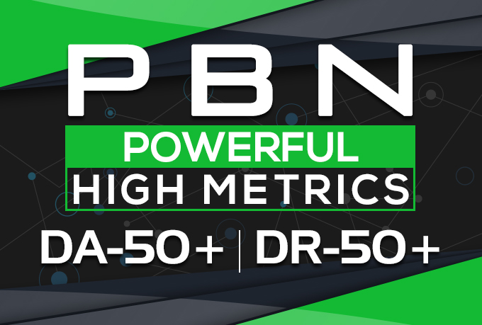 create 25 permanent PBN contextual backlinks with DA and trust flow