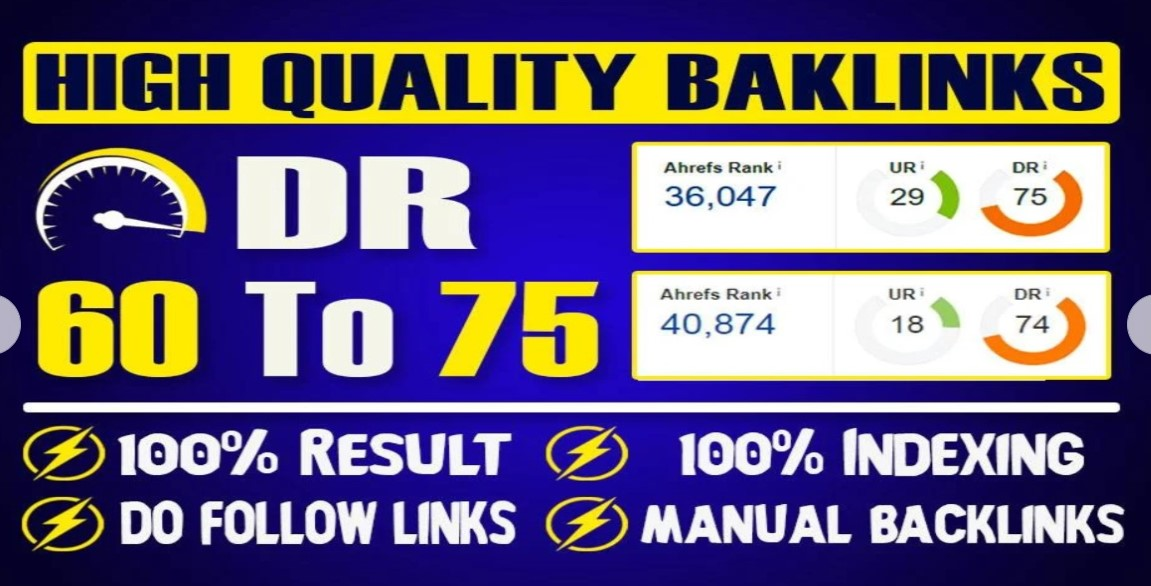 Increase Ranking with DR 75+ 25 Unique Pbn Domain High Authority Backlinks