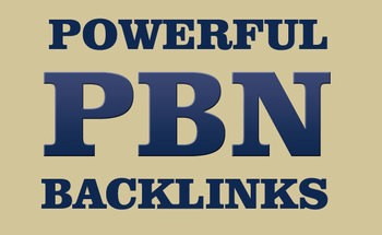 30 high pa da homepage PBNs backlinks for $ 30
