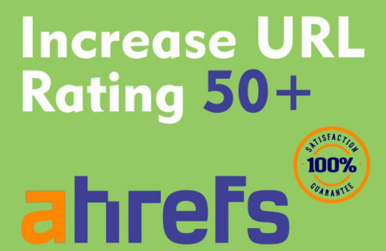 Increase url rating ur to 50 plus guaranteed