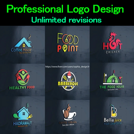 Professional logo design Express delivery
