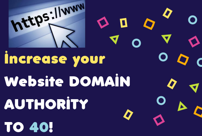 Permanently increase your website domain authority to 40