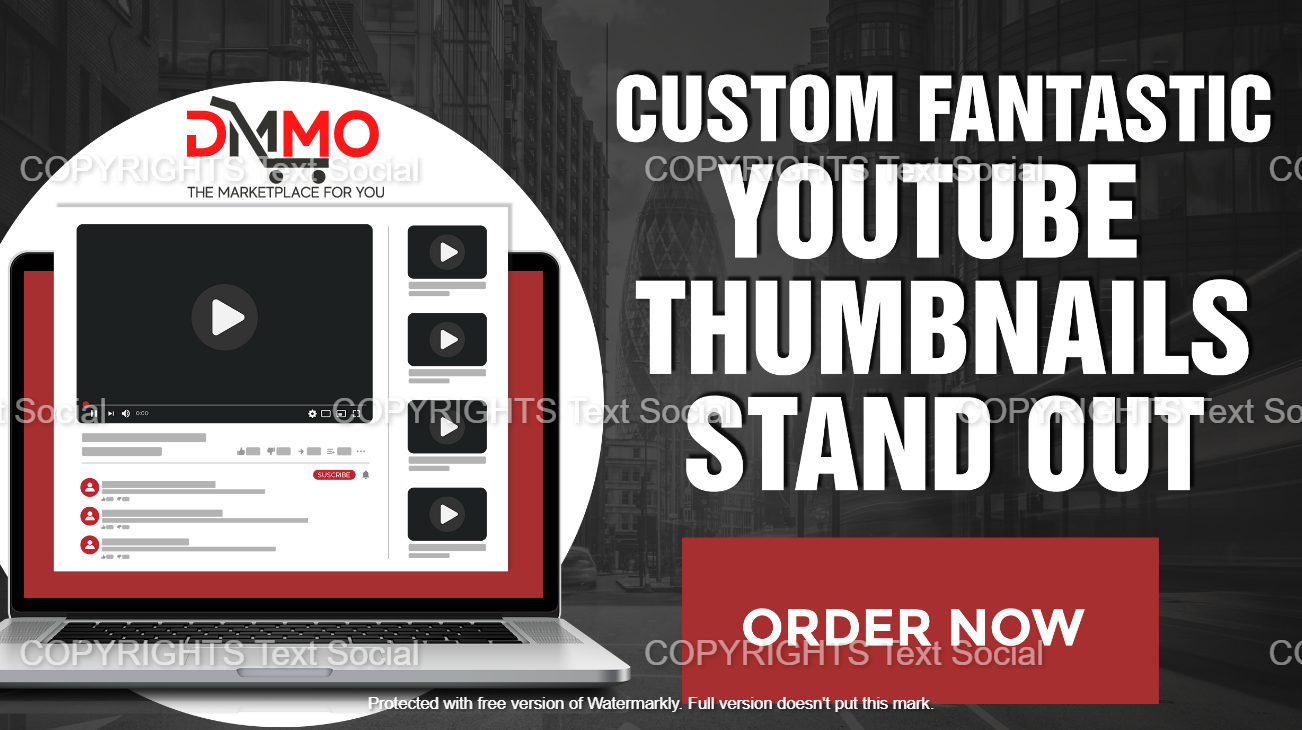 Create creative Thumbnail for your YouTube