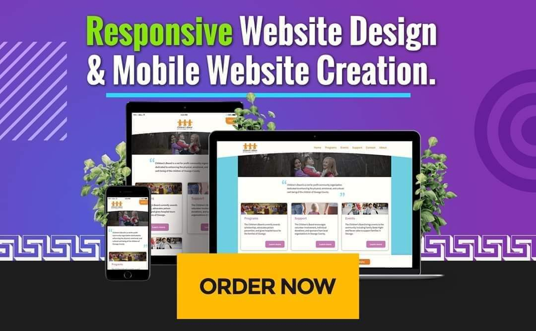 Create SEO Friendly Responsive Website to Rank Fast add Android App Available