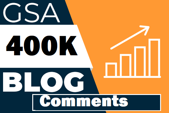 Live 400K GSA Blog Comments Back links For SEO