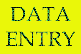 All type of data entry work is being done here.