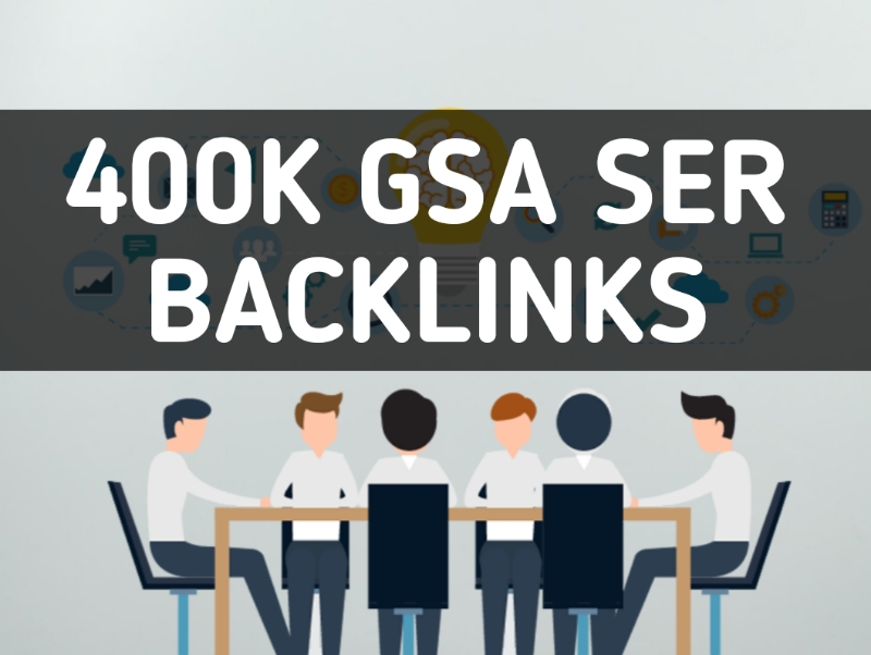 Create 400k High Quality GSA SER Backlinks For Google Ranking