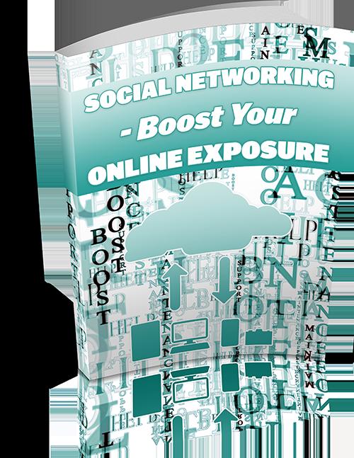 Social networking boost your online exposure ebook