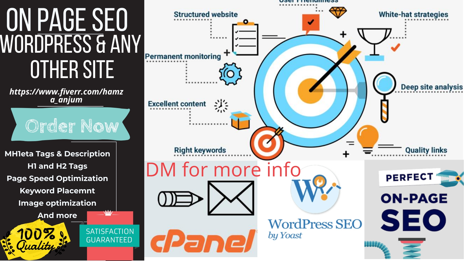 Complete on page SEO for wordpress and any other site
