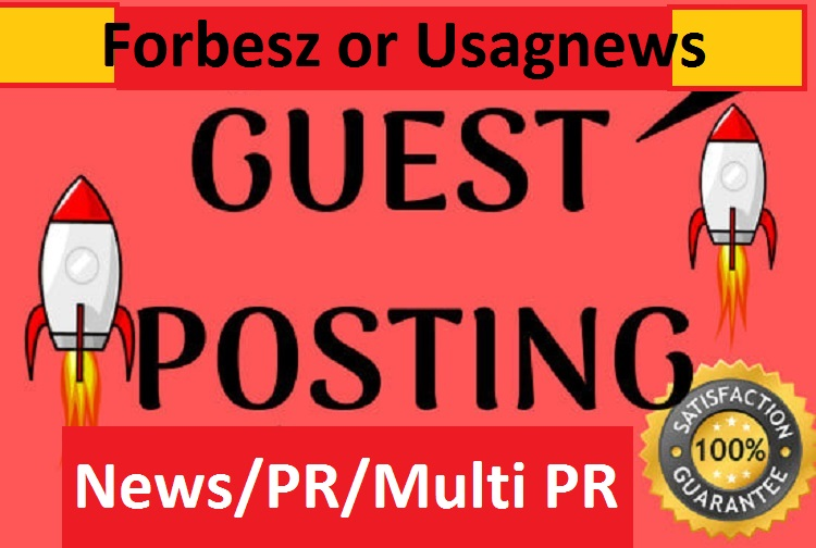 I will publish your Article USA base on News sites on Forbesz or Usagnews