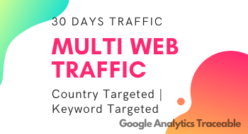 Drive 100,000 Multi Web Traffic from Organic to Your Site