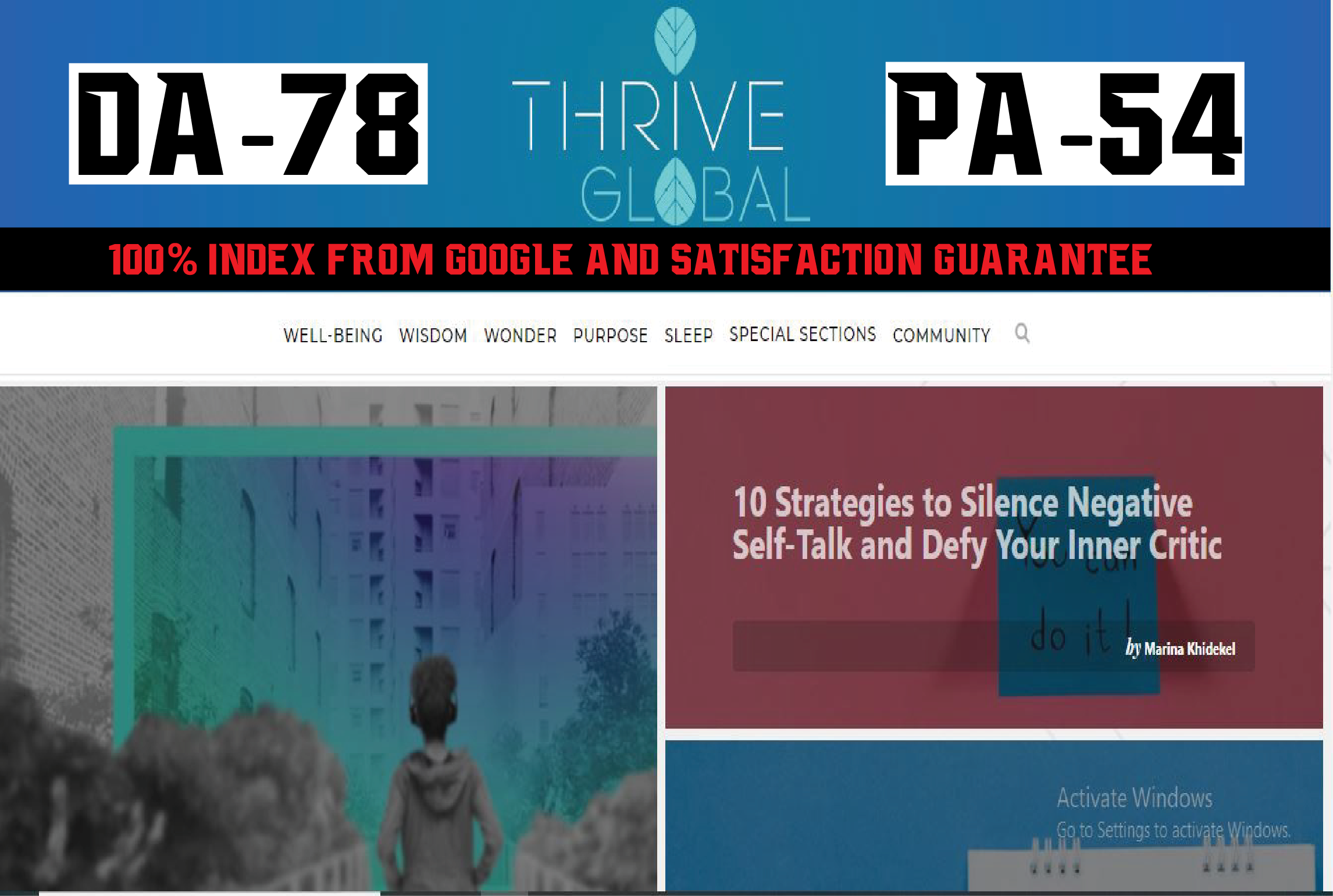 Write And Publish Super Editorial On Thriveglobal Da78 Blog