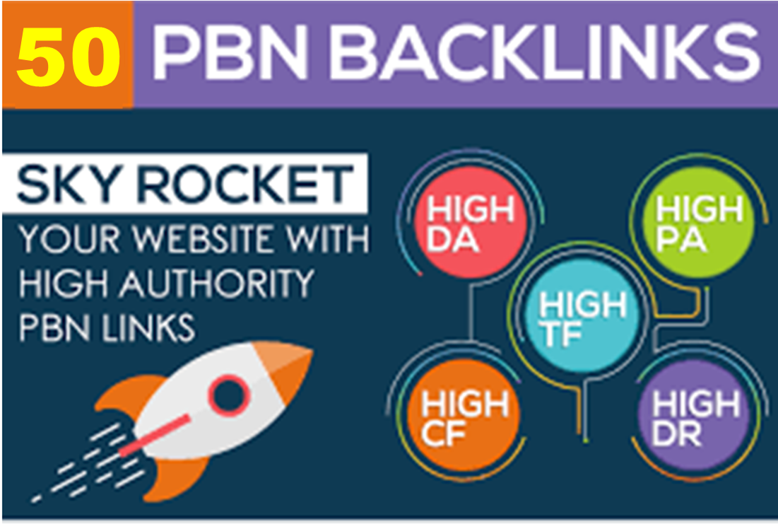 create Manual 10 HomePage PBN Backlinks Of High DA For Google Ranking