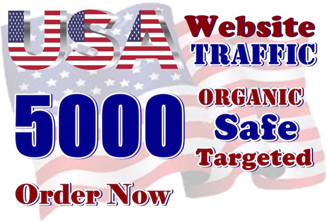 5000 USA Targeted Web Traffic for 15 day