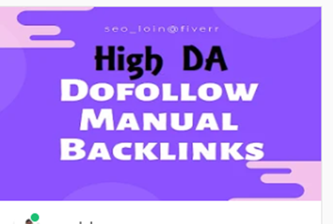 Rank on Google With Top 50 Authority SEO Backlinks Of High DA 60 to 100