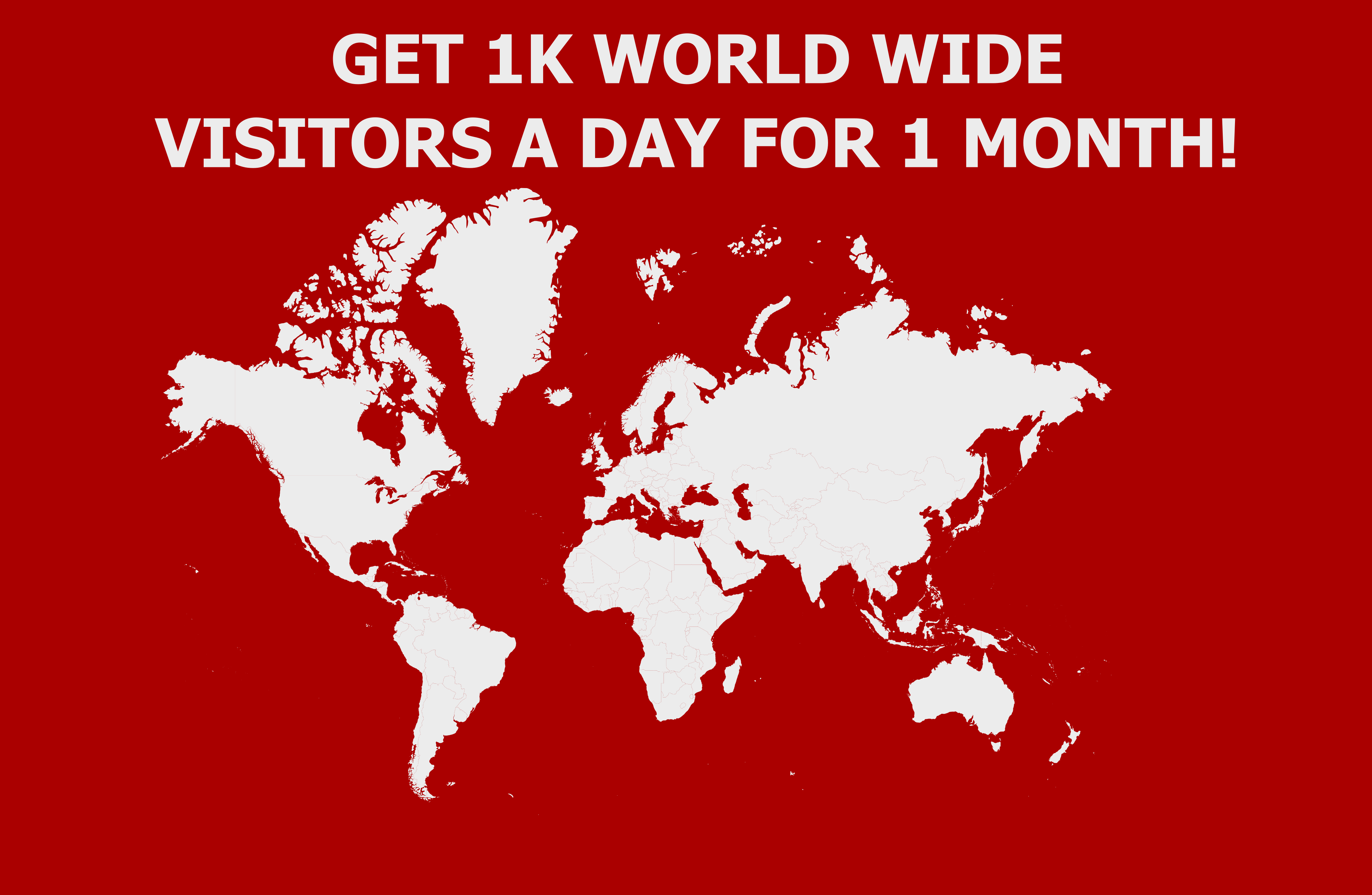 Send 1,000 Visitors A Day for 1 Month