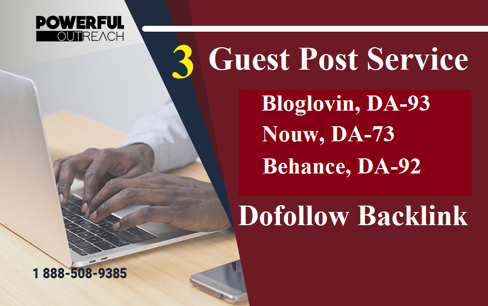 I Will Do High Quality Guest post on 3 High DA 60+ site