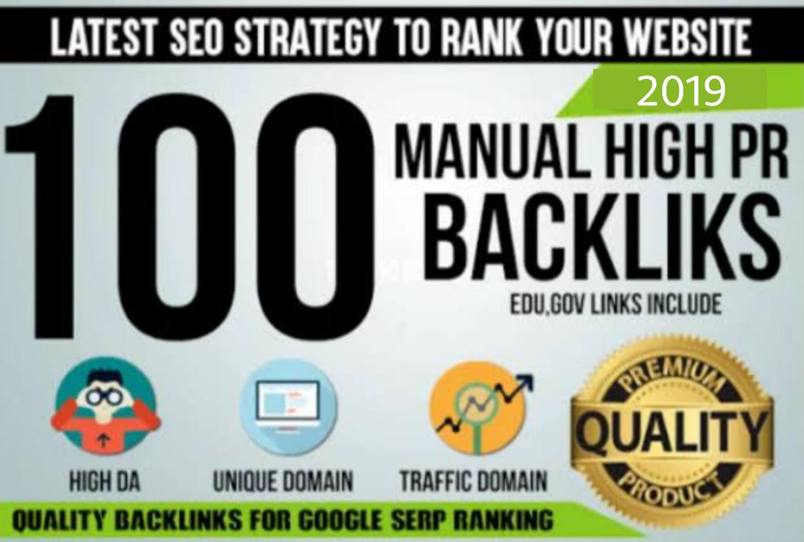 100 Dofollow Backlinks From High DA PA Websites
