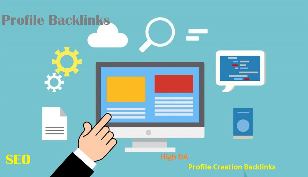 50 HQ Profile Creation Backlinks For Your Website