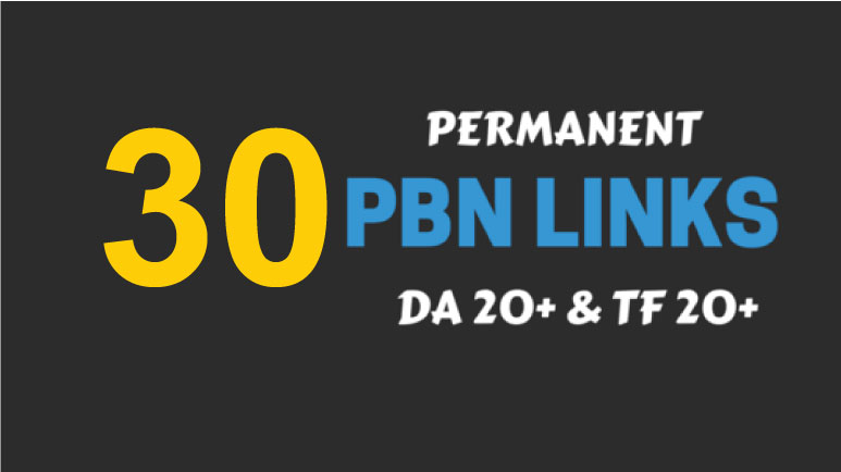30 pbn backlinks home page parmanent post high da 20+