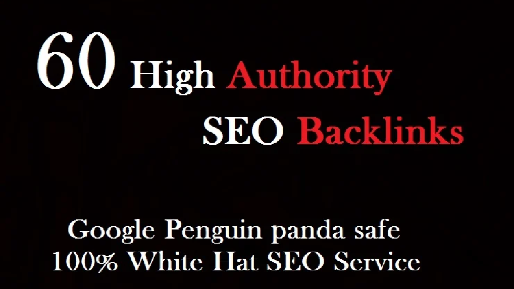create 70 high quality SEO backlinks link building
