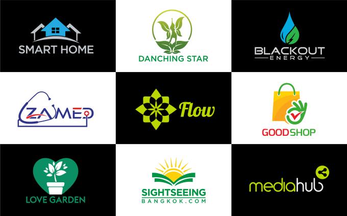 I will design minimalist logo for you Business/Company.