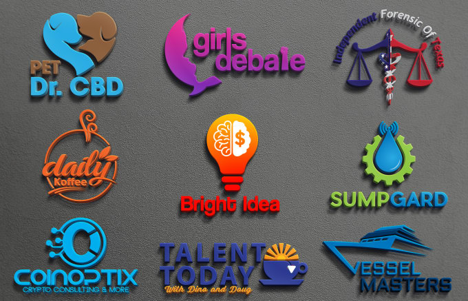 Design a professional logo for your business & Company.