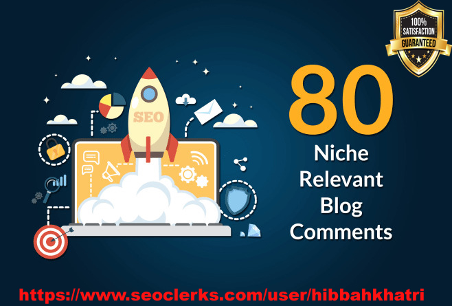 I will do 80 high quality niche relevant backlinks