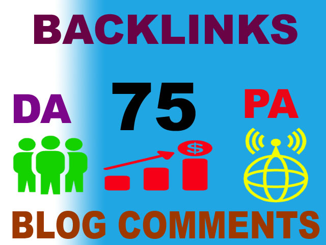 75 High DA Site to get valuable backlinks dofollow
