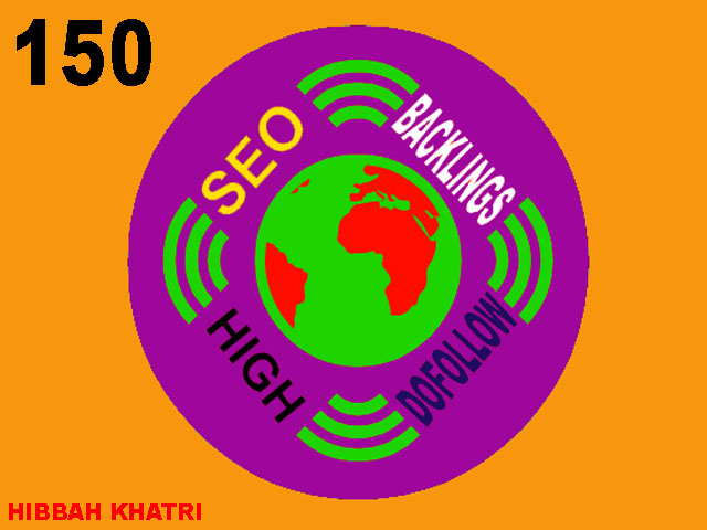 Provide 150 High Da Backlinks Service For SEO Service
