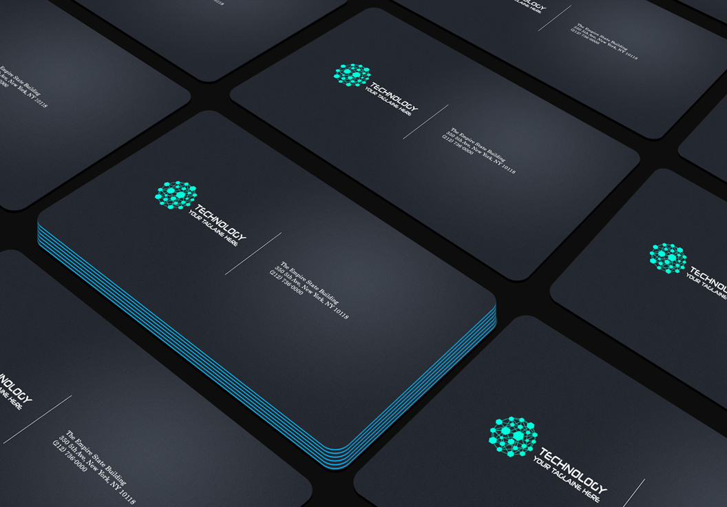 Design a professional business card in 1 day