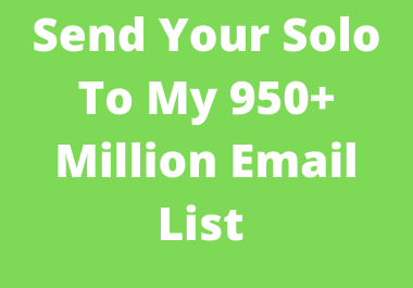 Advertise Your Great Offer To 950+ Million