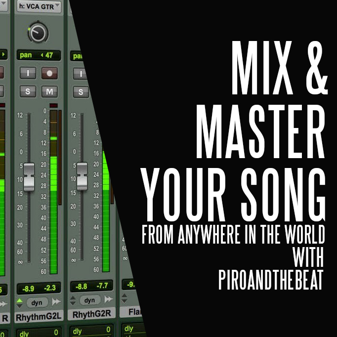 Mix and Master your music from anywhere in the world and get top class worldwide quality