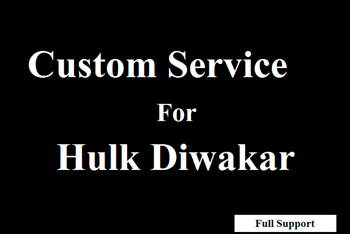 Custom Service Offer for Best Buyer And Great