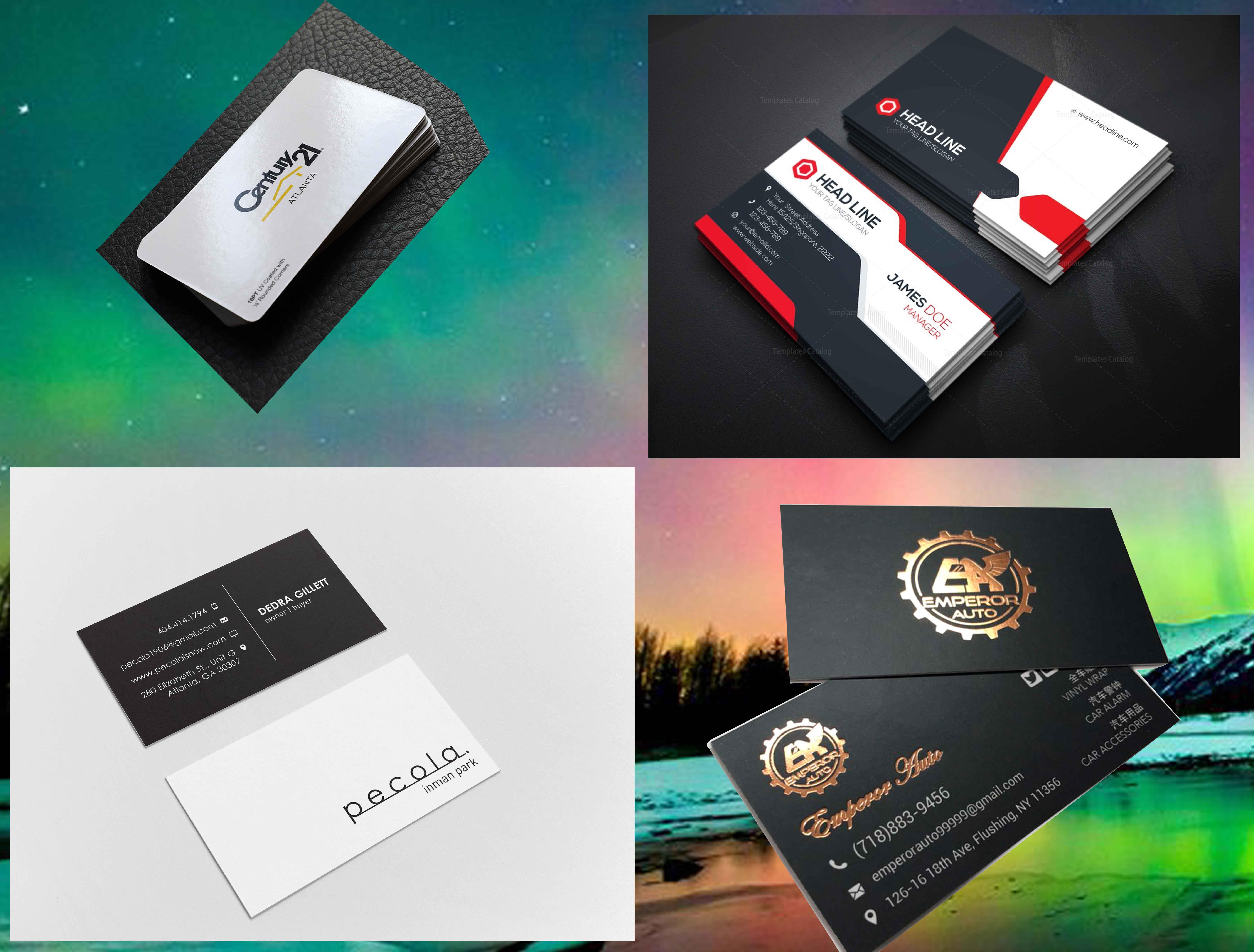 Create High quality Business Card Design