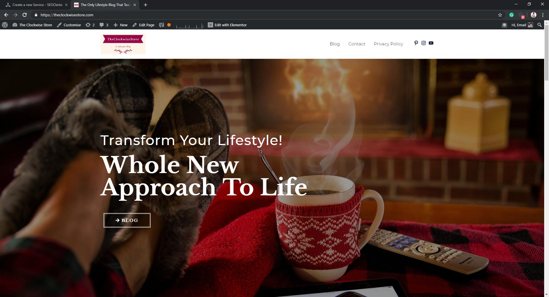 Make An Amazing & Cool Looking Homepage In WordPress