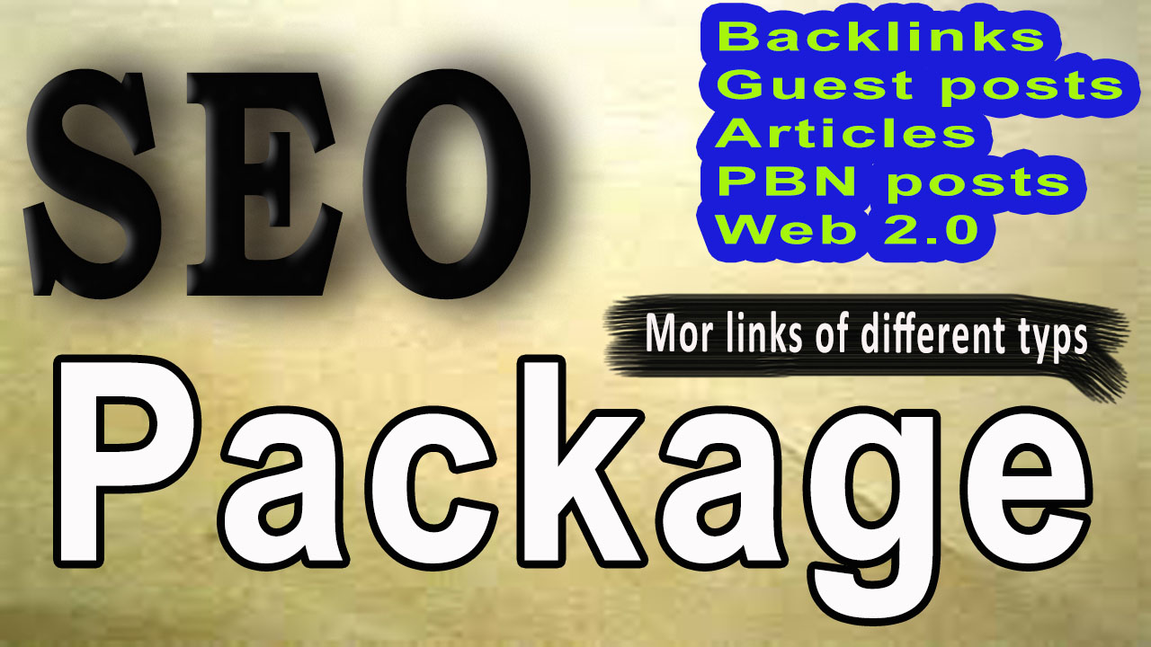 2021,  All in one monthly SEO package for boost your website