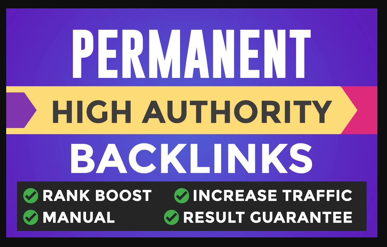 Rank your website on Google First Page Guaranteed With Permanent Backlinks website keywords