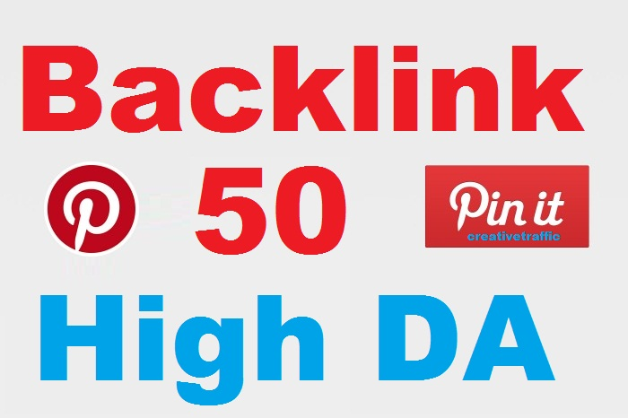 High-Quality 50 Pinterest Pin Backlinks With Live Proof Delivery