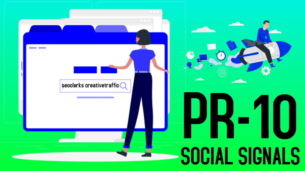 1000 High Quality PR10 Social Signals Share / Bookmark / Backlinks / Help To Google Ranking
