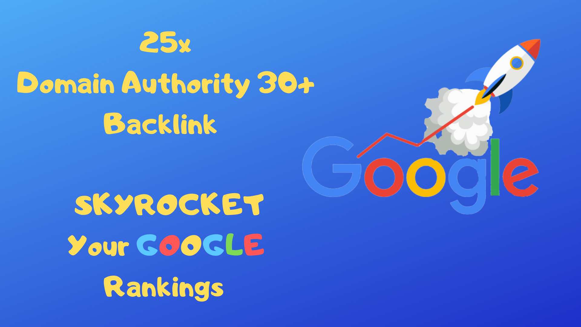 I Will SKYROCKET Your Google Rankings with this Backlink Service