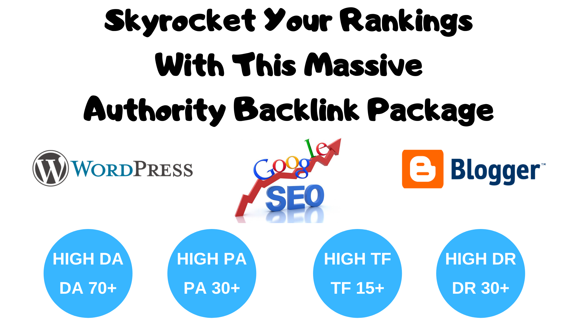 Skyrocket Your Rankings With This Massive Authority Backlink Package