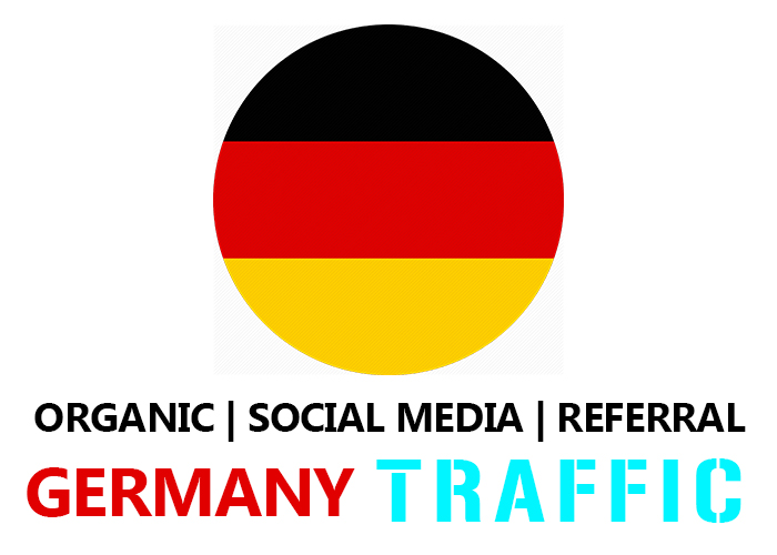 Real Germany Organic,  Social Media,  Referral Traffic
