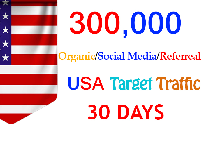 send 300,000 usa target social media real traffic Adsense safe
