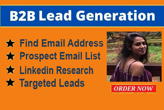 I Will Do 1000 Verified B2B Lead Generation and Email List Building