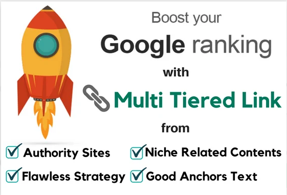 Boost Your Google Ranking With Multi Tiered Link Building-2020 Update SEO Link Pyramid
