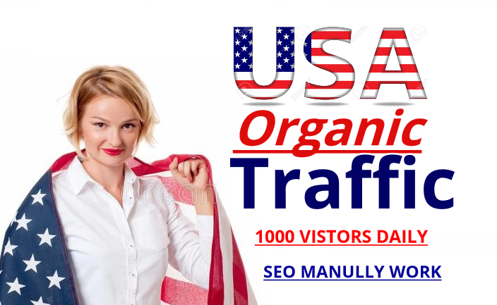 do USA Organic Traffic 10k real