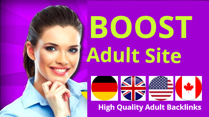 Boost your adult backlinks website top rank and traffic