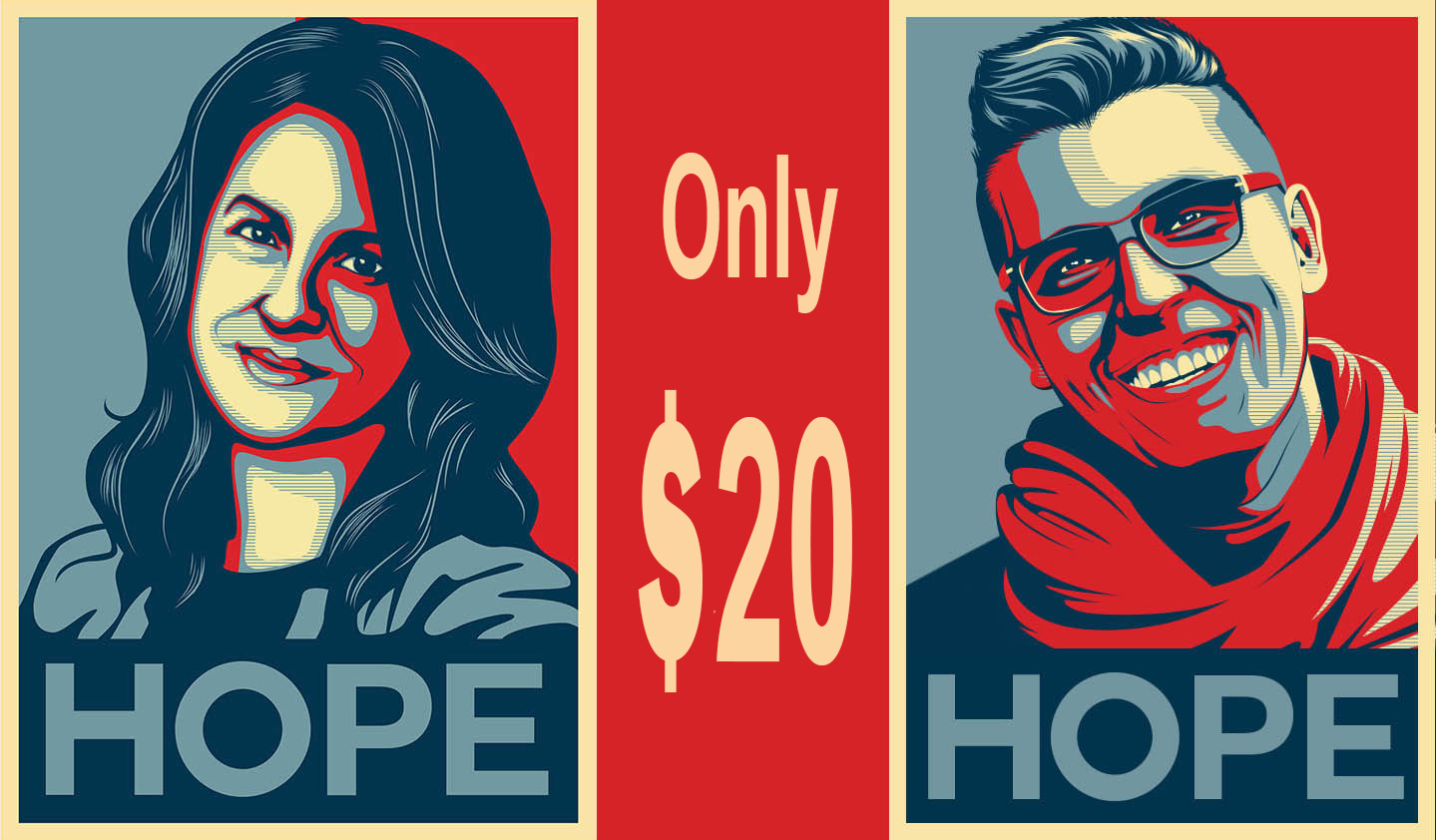 Design Obama Style Hope Poster From Your Photos
