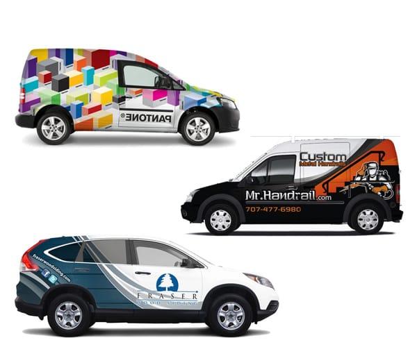 I will do classy car wrap, van wrap, truck wrap designs